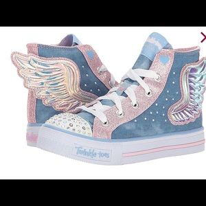 Girls SKECHERS Twinkle Toes Ligh up sequin Boutique